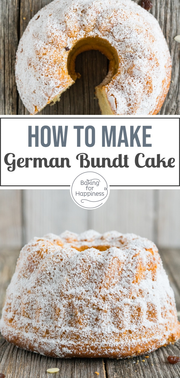 Grandma's traditional yeast-risen bundt cake always tastes good! And with this recipe, baking the fluffy pastry is a breeze.